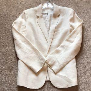 Cream linen Joie blazer